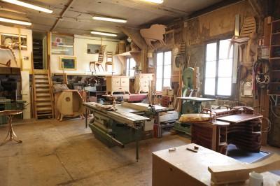 Workshop lo c kerisel cabinetmaker for Fenetre metal style atelier