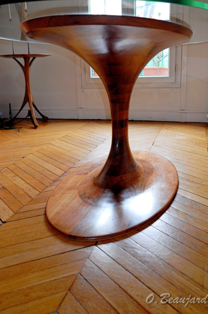 Table haute SABLIER