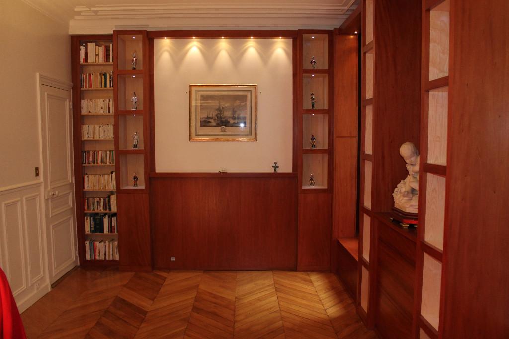 Agencement d'une pièce d'un appartement