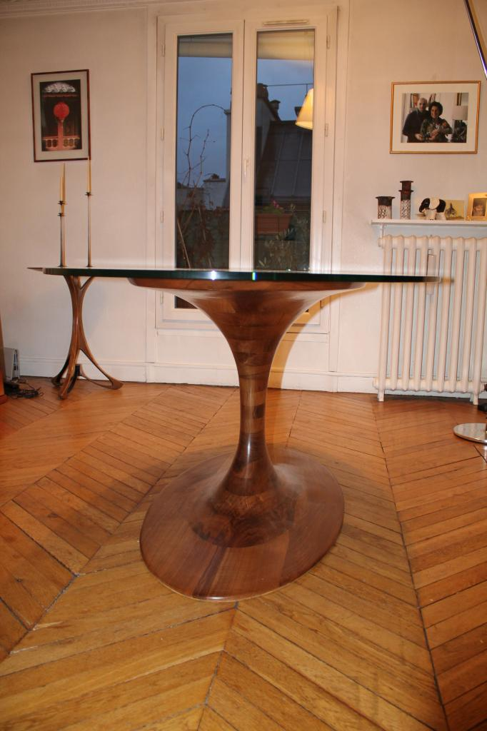 Table haute SABLIER