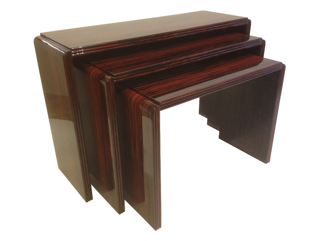 Tables gigognes ebony