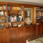 bookcase Louis XVI style
